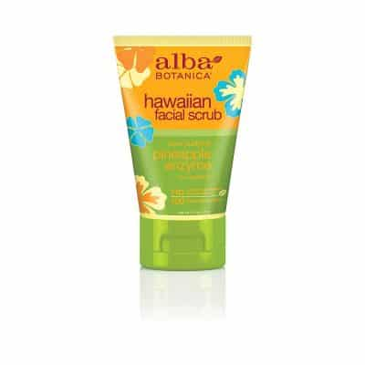 Alba Botanica Pore Purifying Pineapple Enzyme 4 Oz Facial Scrub