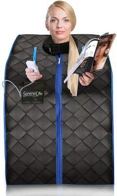 SereneLife Portable Therapeutic Steam Portable Sauna