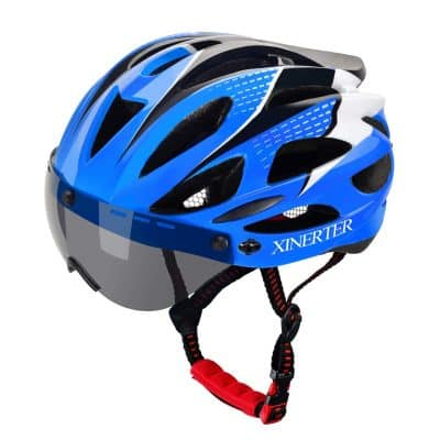 XINERTER Adult Bike Helmet and Cycling mask