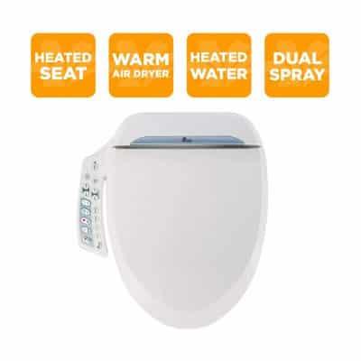 BioBidet BB-600 BB600 Bidet Toilet Seat