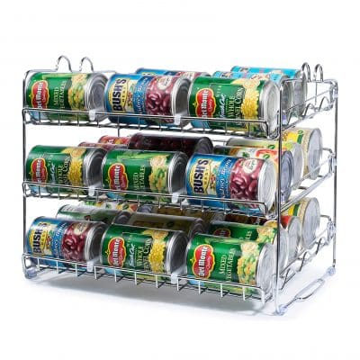Che'mar Stackable Can Rack Organizer 36 Cans