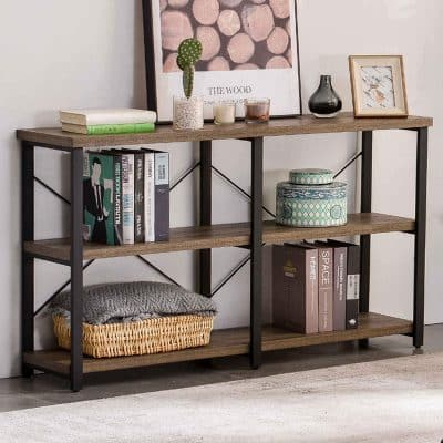 GRELO HOME Rustic Console Table 47 Inches