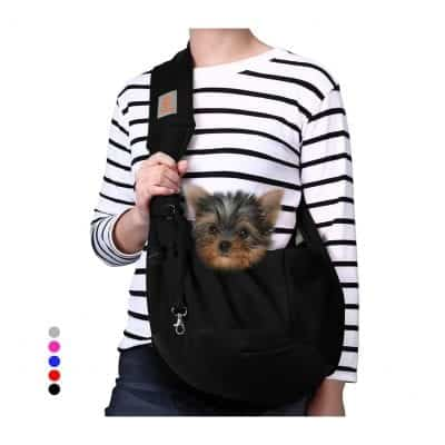 TOMKAS Small Dog Cat Carrier Sling