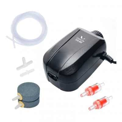 Uniclife Aquarium Air Pump 100 Gallon Tank