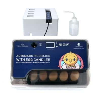 TRIOCOTTAGE Egg Incubator with an Automatic Egg Turner