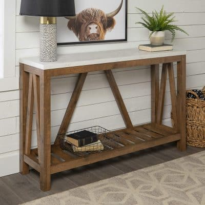 Walker Edison Furniture 52 Inches Modern Farmhouse