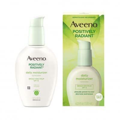 Aveeno Facial Moisturizer Positively Radiant