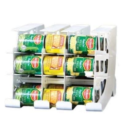 FIFO 54 Cans Food Storage Can Tracker Can Organizer