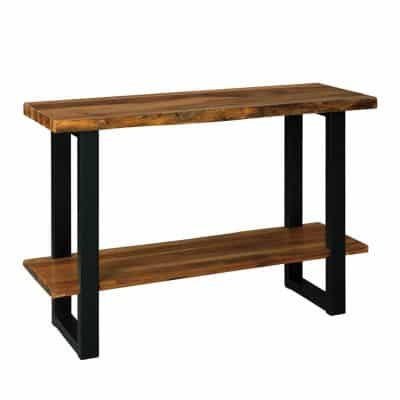Signature Design by Ashley Wood Console Table with Storage Shelf
