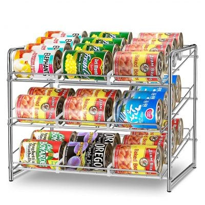 Simple Trending Can Rack Organizer 36 Cans Capacity