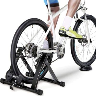 YAHEETECH Indoor Premium Steel Bicycle Exercise Stationary Trainer Stand