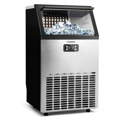 E EUHOMY Commercial Ice Cube Maker