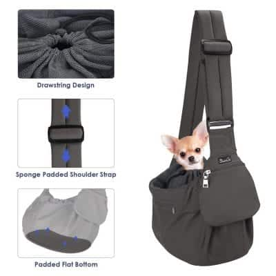 SlowTon Pet Sling Carrier