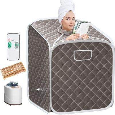 Giantex 2L Personal Therapeutic Portable Steam Sauna