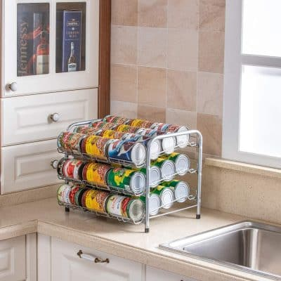 Odd Easy Can Rack Organizer 3-Tier 36 Cans Capacity