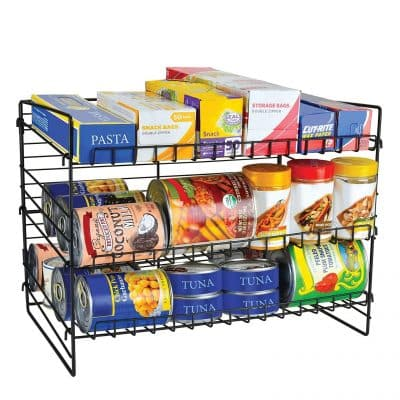 Frigidaire Kitchen Pantry Organizer with 3-Tier Shelves