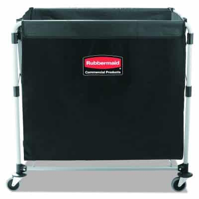 Rubbermaid Commercial Products Collapsible 8 Bushel Steel Cart