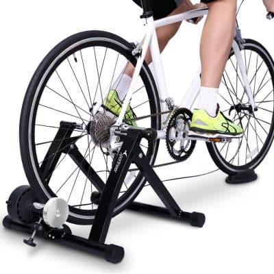 Sportneer Stainless Steel Resistance Adjustable Bike Trainer Stand