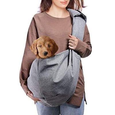 AOFOOK Dog Sling Carrier