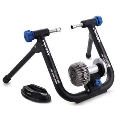 unisky Fluid Bike Exercise Indoor Bicycle Trainer Stand Flywheel Stand