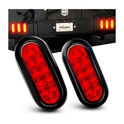 """Nilight TL-01 6"""" Waterproof Trailer Lights"""