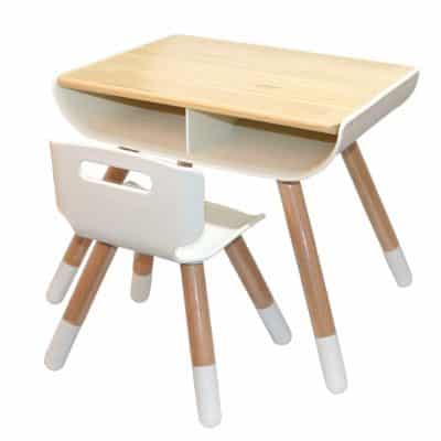 Asunflower Wooden Table and Chair Set