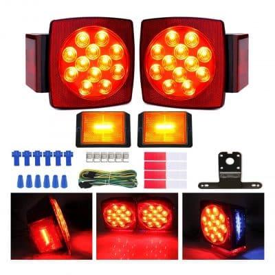 Carrep Boat Trailer Light Kit