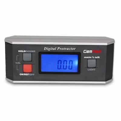 GemRed Digital Level Angle Finder IP65 Waterproof Rating