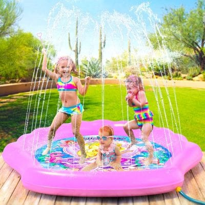 PRINCESSEA Splash Pad for Kids