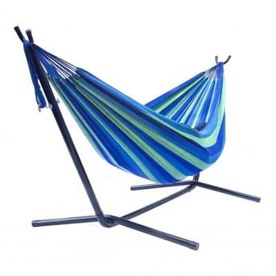 Sorbus Two Person Adjustable Hammock Steel Stand Bed