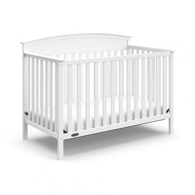 Storkcraft White 4-in-1 Convertible Baby Crib