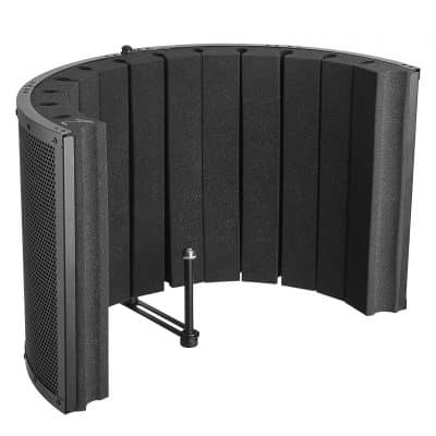 Bison Prosound Portable Vocal Booth Stand Mount