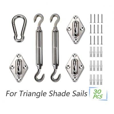 LOVE STORY 6 Inches 316 Stainless Steel shade sail Hardware Kit