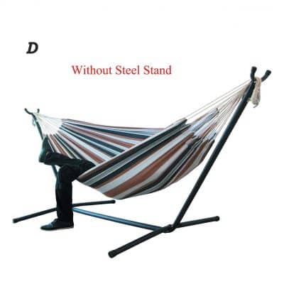 Supicity Large Double People Portable Hammock Steel Stand