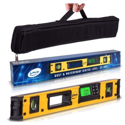 Shefio 24 Inches Professional IP54 Water and Dustproof Digital Level