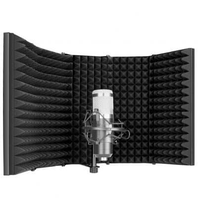 Neewer Pro Microphone Isolation Shield 5-Panel