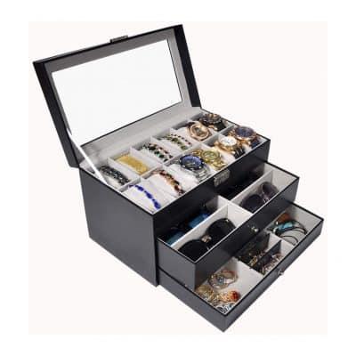 ADTL 3-Layer Watch Collection Storage Box