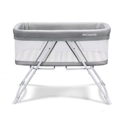 MiClassic All mesh 2in1 Fold Baby Crib for Sale under 200
