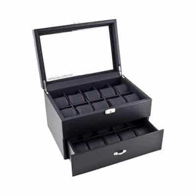 Caddy Bay Collection Watch Display Box