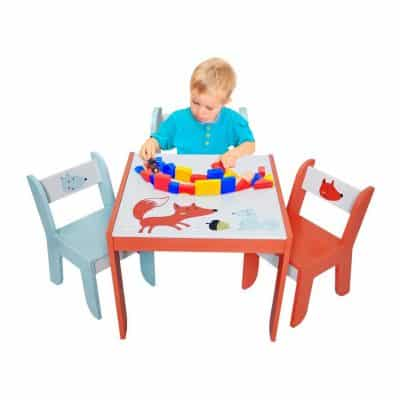 Labebe Wood Table Set for Kids