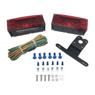 MAXXHAUL 12V LED Trailer Light Kit