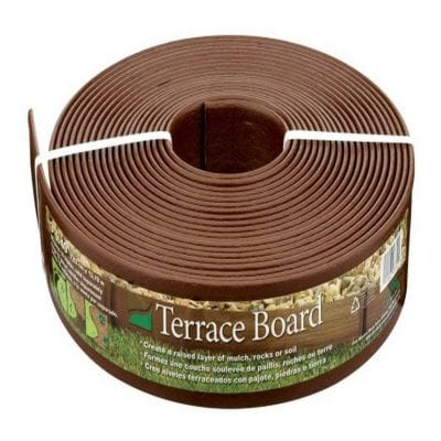 Master Mark Plastics 3 Inches by 40ft Landscape Edging Coil