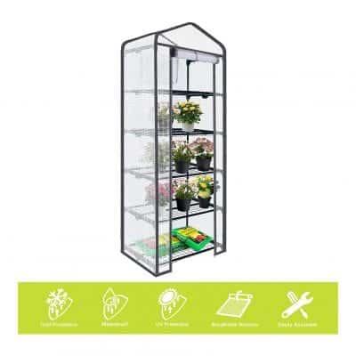 ENSTVER Reinforced 5 Tier Mini Greenhouse