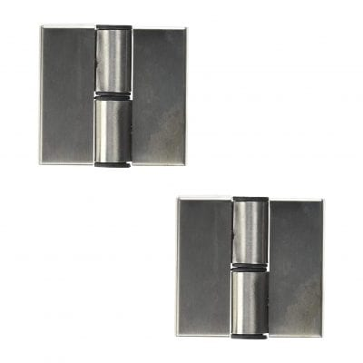 LDEXIN 2 Pieces Stainless Steel Self Closing Door Hinges