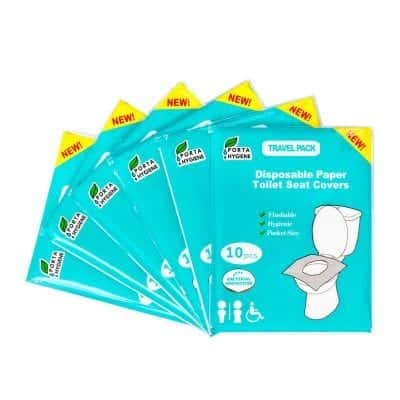 Porta Hygiene Toilet Seat Disposable Covers 6 Pack
