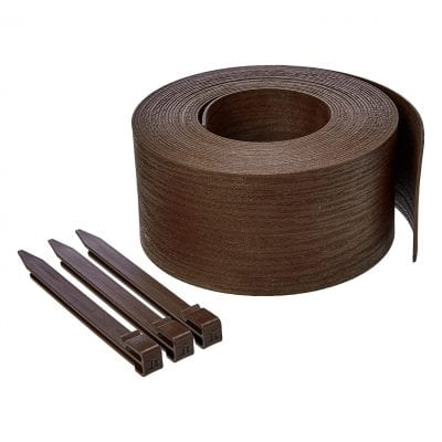 AmazonBasics 5 Inches Landscape Edging Coil with Stake