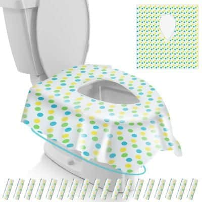 Gimars Disposable Travel Toilet Seat Covers