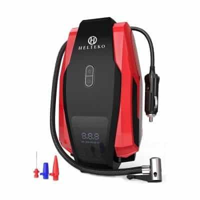 Helteko Portable Air Compressor Pump Digital Tire Inflator