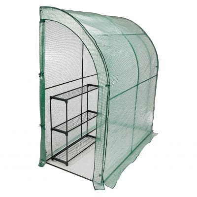 CO-Z Lean-to Greenhouse Portable Greenhouse 3.3 x 6.6 x 7ft
