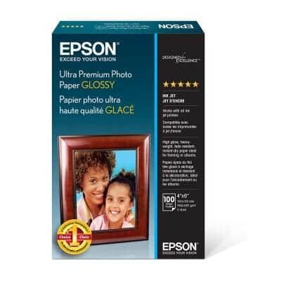 Epson Ultra-Premium Photo Paper, White